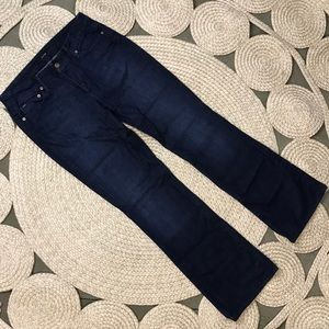 Joe's Jeans 30 Honey Blue Dark Wash Bootcut